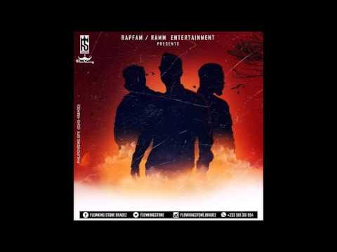 FIRE BON DEM RMX - FLOWKING STONE ft SARKODIE X SHATTA WALE)