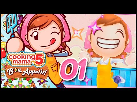 EVEN BETTER THAN MAMA! Cooking Mama 5 Bon Appetit! Ep 1 W/ TheKingNappy!