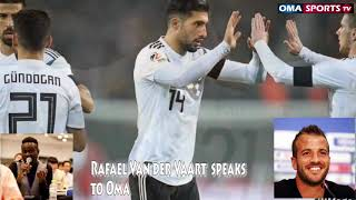 Rafael van der Vaart- Germany must beg  Mesut Ozil to return to