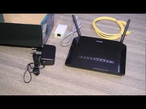 Dlink Adsl 300 DSL 2750 U Wifi Router USB Host Unboxing - iGyaan.in