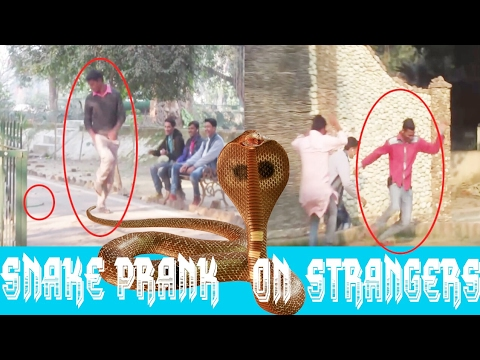 Funny Snake prank | prank in india | Snake prank in india