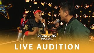 Video Boy William Nge-Rap Bareng Agung | Live Audition 3 | Rising Star Indonesia 2016 MP3, 3GP, MP4, WEBM, AVI, FLV Maret 2018