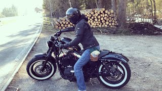 8. Harley Davidson Sportster Forty Eight 2015, first Ride in 2019