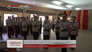 KAPOLDA PIMPIN SERTIJAB 4 PEJABAT DI JAJARAN POLDA BANGKA BELITUNG #TRIBRATA NEWS
