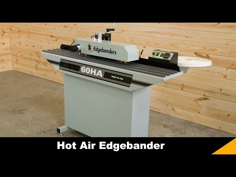 60HA Hot Air Edgebander by Safety Speed Manufacturing