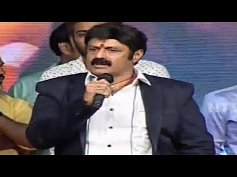 MLA Balakrishna Sensational Comments in Savitri Movie Audio Launch