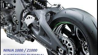 10. Ninja 1000 / Z1000 / Z1000SX Suspension Tutorial - General Setup