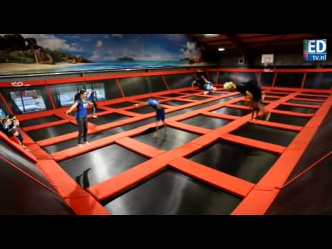 Trampolinespringhal Bounz in Best geopend
