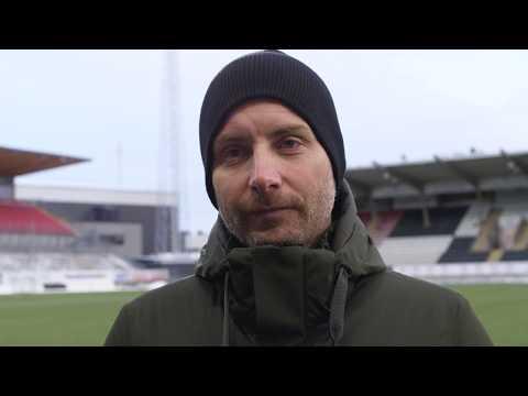 Axel Kjäll efter matchen mot Helsingborg