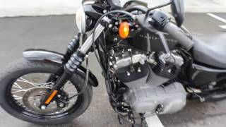 7. SOLD! 2008 Harley Davidson XL1200N Nightster Start up and Review
