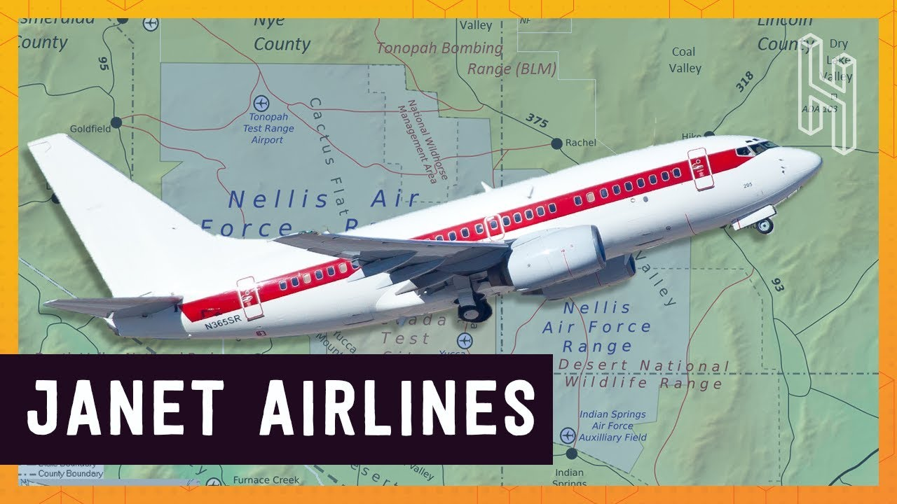 JANET Airlines – The US Government's Secret Airline