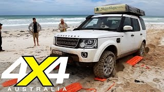 How to beach drive  4X4 Australia