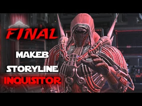SWTOR - Chapter 4 Storyline on Makeb, Empire Side, SWTOR RotHC. Poena (Sith Inquisitor) kills The Hutt Archon and discusses the future of the Empire, the war with th...