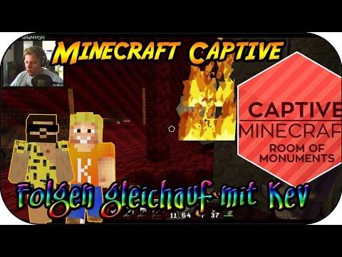 MINECRAFT CAPTIVE # 16 - Folgen gleichauf mit Kev «» Let's Play Minecraft Captive