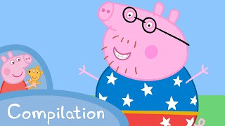 Peppa Pig Episodes - Daddy Pig compilation  Peppa Pig Official