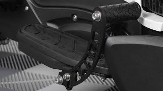 8. Can-Am Spyder RT Foot Rests / Highway Pegs