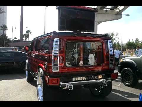 Swift c.c hummer on 32 forgiatos at sema 2011