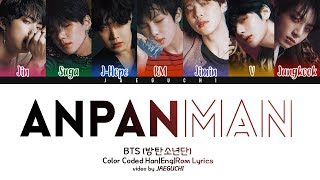 Download Lagu BTS (방탄소년단) - ANPANMAN (Color Coded Lyrics Eng/Rom/Han) Mp3
