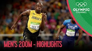 3. Usain Bolt wins third Olympic 200m gold