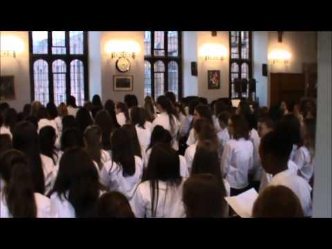 Y7 and Y8 Celebration Concert 2015 -  Sing (Gary Barlow)