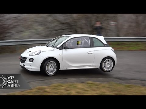 Test Opel Motorsport Spain | Pre CERA 2015 | WRCantabria HD