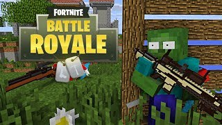 Video Monster School: FORTNITE BATTLE ROYALE CHALLENGE - Minecraft Animation MP3, 3GP, MP4, WEBM, AVI, FLV Juli 2018