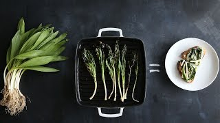 """Have you stopped short from buying ramps at your local farmers' market because you're not sure what to do with them? Get all the info you need to know about ramps from Thomas Joseph and watch as he grills them up to serve with a bit of ricotta cheese spread on toast.Get the recipe: http://www.marthastewart.com/1513965/ramps-recipesSubscribe for more easy and delicious recipes: http://full.sc/P8YgBt---------------------------------------------------------------Want more? Sign up to get the Everyday Food video recipe email, served daily.Get recipe emails: http://www.marthastewart.com/edfWant more Martha? Twitter: http://twitter.com/marthastewartFacebook: https://www.facebook.com/MarthaStewartPinterest: https://www.pinterest.com/marthastewart/Instagram: https://www.instagram.com/marthastewart/Google Plus: https://plus.google.com/+MarthaStewart/posts Sarah Carey is the editor of Everyday Food magazine and her job is to come up with the best ways to make fast, delicious food at home. But she's also a mom to two hungry kids, so the question """"What's for dinner?"""" is never far from her mind -- or theirs, it seems! Her days can get crazy busy (whose don't?), so these videos are all about her favorite fast, fresh meals -- and the tricks she uses to make it all SO much easier.http://www.youtube.com/user/everydayfoodvideos"""