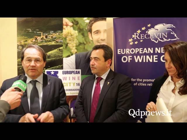 Al via la Docg Città europea del vino 2016: il portoghese Josè Calixto presidente