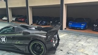 INSANE Pagani Sounds of Vanishing Point 2016 - Huayra BC, 76 LM, 760 VR, C12 and more! by 458MRP