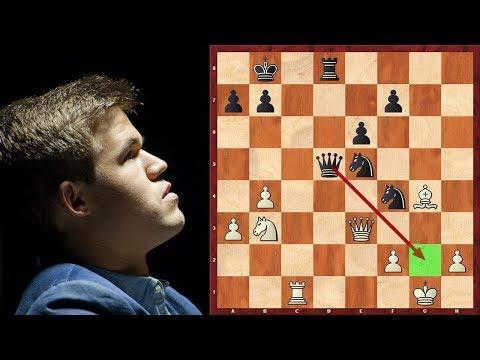 Шахматы. ШОК!!! Магнус Карлсен ЗЕВНУЛ МАТ в 1 ХОД!