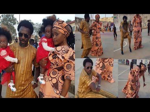 Download Gasar rawar gargajiya tsakani Bello Muhd Bello da matar sa ranar birthday din tagwayen yayan su