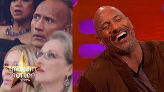 Video Dwayne 'The Rock' Johnson Almost Laid The Smackdown At The Oscars | The Graham Norton Show MP3, 3GP, MP4, WEBM, AVI, FLV Mei 2018