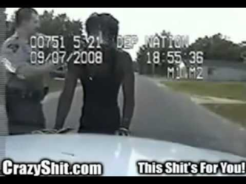 Police brutality   Racist cop violates civil rights – YouTube.flv