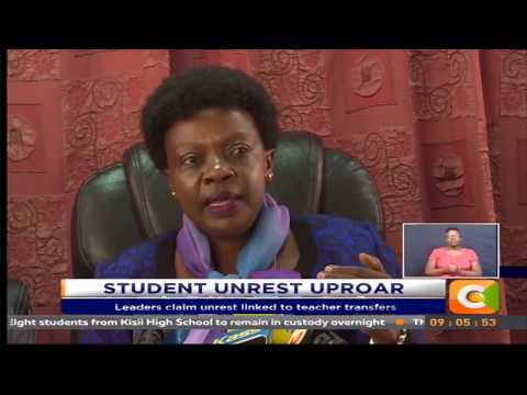 Leaders claim unrest linked to teacher transfers