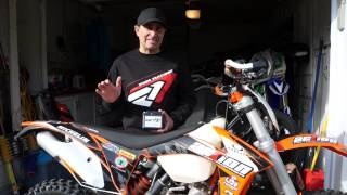 8. EarthX Lithium Battery Install KTM XCW 200