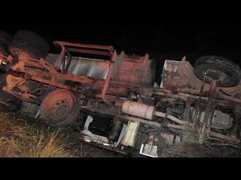 Minuto Gaz - Quadrilha ataca caminhão de tabaco e faz quatro reféns no interior