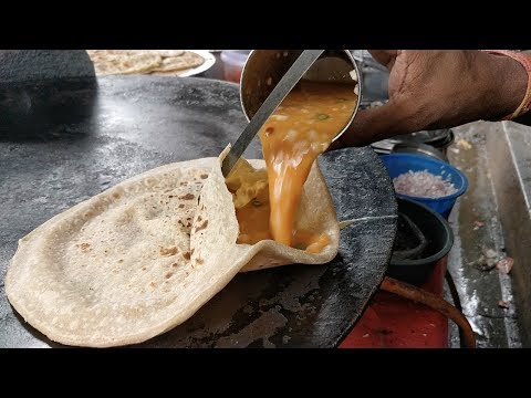 EGG STUFFED PARATHA | Anda Wala Paratha | Indian Street Food