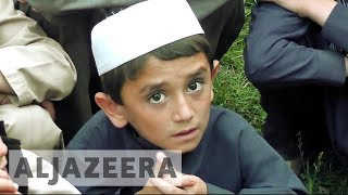 Police in Afghanistan have rescued dozens of boys who say they were being sent to Pakistan to train as suicide bombers. Seven alleged traffickers and 38 chil...