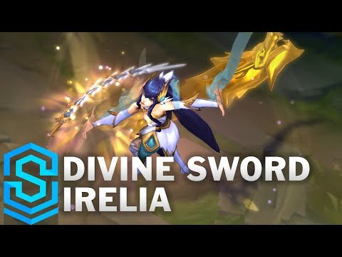 Divine Sword Irelia Skin Spotlight - Pre-Release - League Of Legends