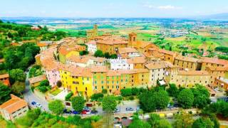 Panicale Italy  city photos : Drone flight around Panicale Italy