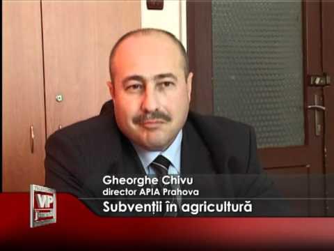 Subvenţii în agricultură