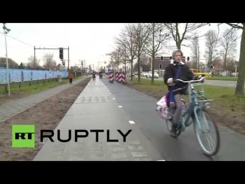 Netherlands: This solar cycle path can power homes, cars