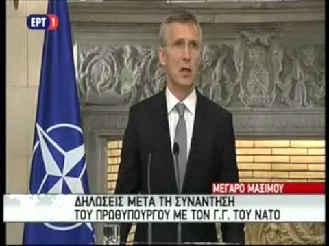 Συνάντηση με τον Γ.Γ. του ΝΑΤΟ, Γένς Σόλτενμπεργκ