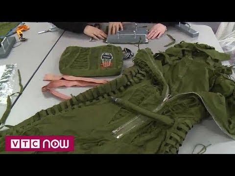 Biến quân phục cũ thành đồ hiệu | VTC1 - Thời lượng: 64 giây.
