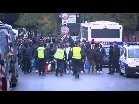 Παρίσι: Επιχειρήσεις εκκένωσης δύο παράνομων καταυλισμών μεταναστών…