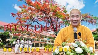 Phật pháp dành cho tuổi học trò - ĐĐ. Thích Trí Huệ