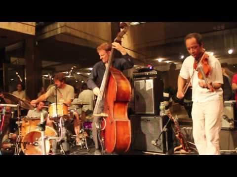 Billy Martin, Chris Wood, Charlie Burnham & Mister Rourke @ Whitney Museum 8-19-11 2/2