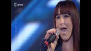 X Factor Albania 2 - 18 Nentor 2012 - Anxhela Noti