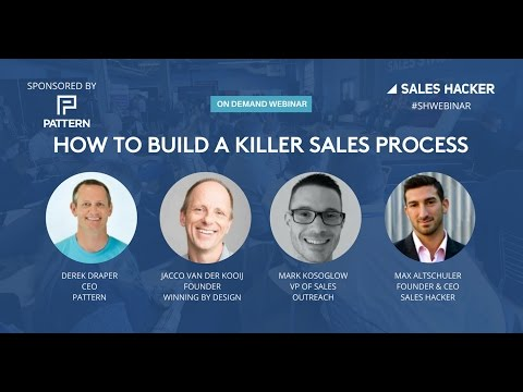How to Build a Killer Sales Process