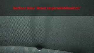 VIREO Car Wash : Imperméabilisation Tissu avec effet